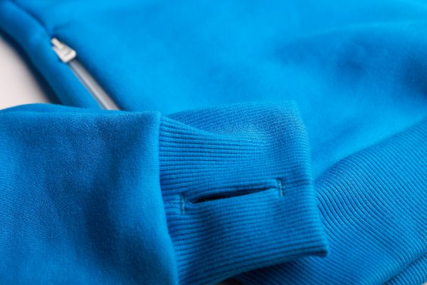 I love BB - bluza kangur męska, niebieska
