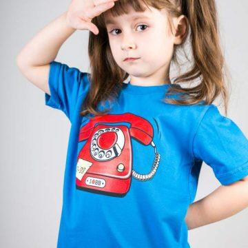 koszulka-telefon-kids-niebieska