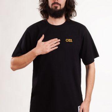 tshirt-koszulka-ilovebb-033-męska-czarna-haft-złoty